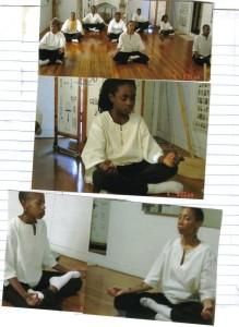 Keti To be still in meditation